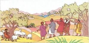 Célébration du samedi 4 février – L'eau – La Samaritaine – Spectacle dans Spectacle P011-300x145